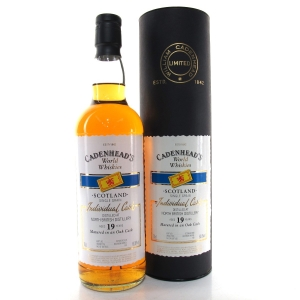 North British 1989 Cadenhead's 19 Year Old