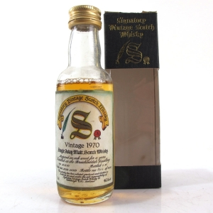 Bruichladdich 1970 Signatory Vintage 18 Year Old 5cl Miniature