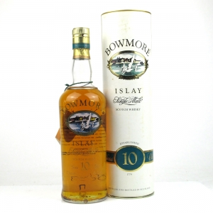 Bowmore 10 Year Old 1990s Screen Print Label