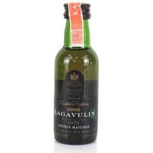Lagavulin 1979 Distillers Edition Miniature 5cl / First Release
