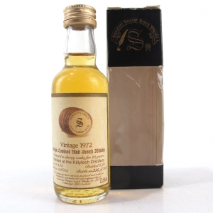 Killyloch 1972 Signatory Vintage 22 Year Old 5cl Miniature