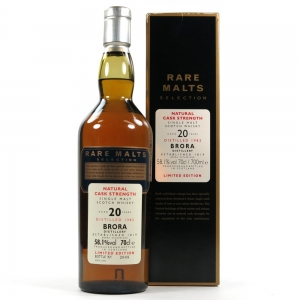 Brora 1982 Rare Malt 20 Year Old