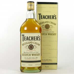 Teacher's Highland Cream 1980s 75cl