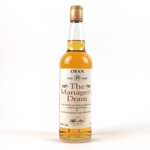 Oban 19 Year Old Manager's Dram 1995