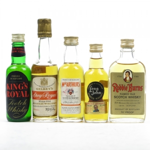 Miscellaneous Blended Miniatures 6 x 5cl