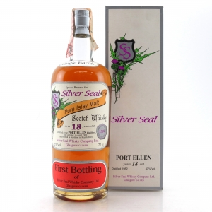 Port Ellen 1982 Silver Seal 18 Year Old / First Bottling