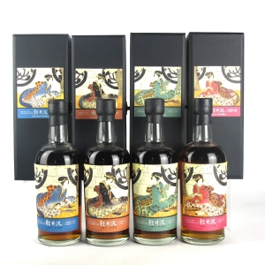 Karuizawa 1999/2000 Geisha Single Casks #2339 / #7721 / #2332 / #895 4 x 70cl