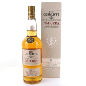Glenlivet Nàdurra 16 Year Old Cask Strength Batch #1007D