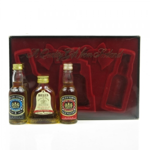 Bell's Miniature Gift Pack 1980s / Including Blair Athol and Dufftown