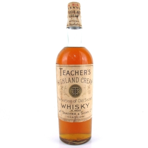 Teacher's Highland Cream 1930s