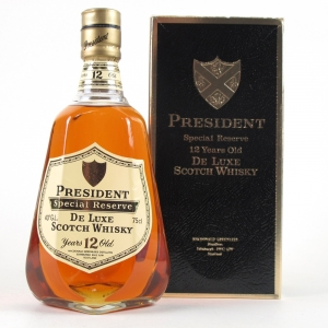 President Special Reserve 12 Year Old 1980s