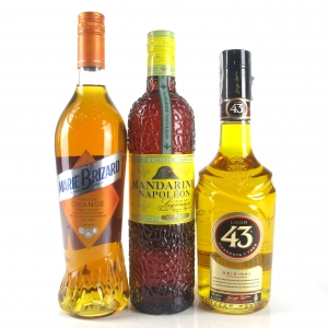 Miscellaneous Citrus Liqueur Selection 3 x 70cl