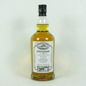 Springbank 10 Year Old Decommissioning HMS Campbeltown front