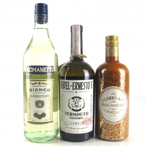 Miscellaneous Vermouth Selection 70cl, 75cl & 1 Litre