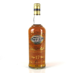 Bowmore 17 Year Old 1990s Screen Print Label 75cl / US Import