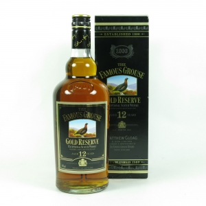 Famous Grouse 12 Year Old Gold Reserve 1 Litre front