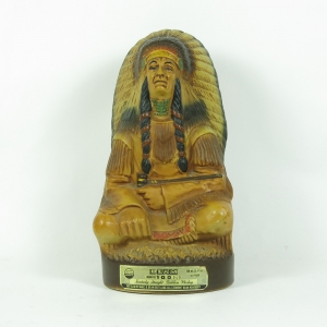 Jim Beam 100 Months Old (Native American Decanter) front