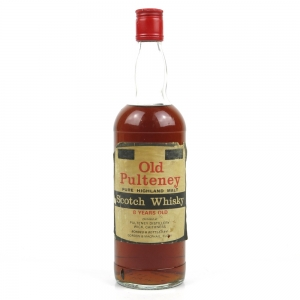 Old Pulteney 8 Year Old 1970s