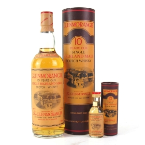 Glenmorangie 10 Year Old 1980s / Including Miniature