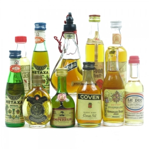 European Brandy Miniature Selection 11 x 5cl