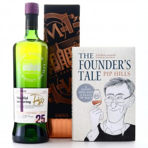 Glen Grant 1992 SMWS 25 Year Old 9.152 Signed by Pip Hills / Includes a Copy of The Founder's Tale