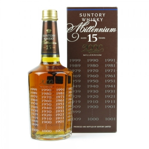 Suntory Whisky Millennium 15 Year Old