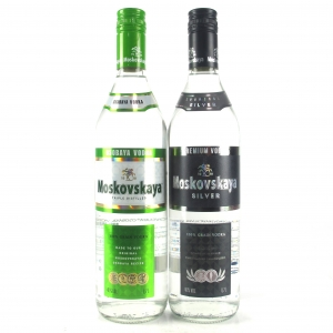 Moskovskaya Latvian Vodka Selection 2 x 70cl