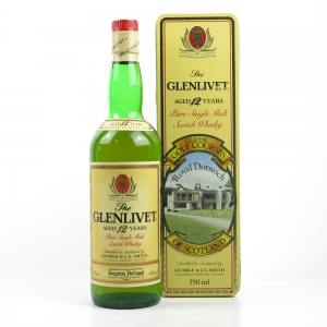 Glenlivet 12 Year Old Royal Dornoch Classic Golf Course Tin 75cl