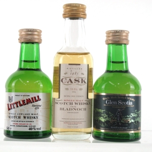 Campbeltown & Lowland Miniatures 3 x 5cl