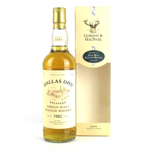 Dallas Dhu 1982 Gordon and MacPhail 25 Year Old #1272