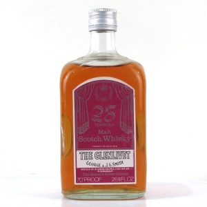 Glenlivet 25 Year Old Gordon and MacPhail / Queen's Silver Jubilee 1977
