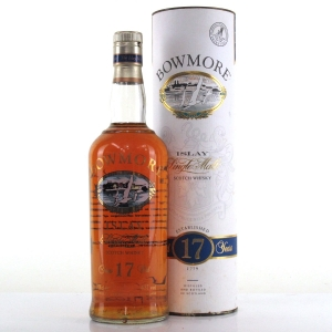 Bowmore 17 Year Old Screen Print 1990s