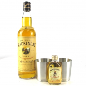 Mackinlay's 5 Year Old / includes Miniature 5cl & 2 x Pewter Cups