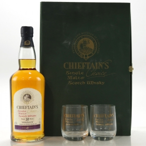 Mortlach 1988 Chieftains 10 Year Old / Including Glasses