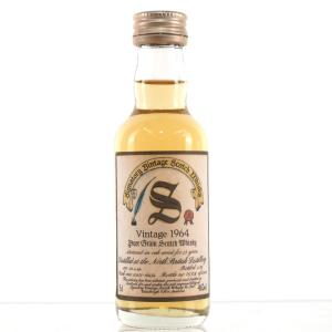 North British 1964 Signatory Vintage 25 Year Old 5cl Miniature