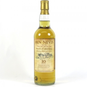 Ben Nevis 1996 Spirit of Stirling 10 Year Old front