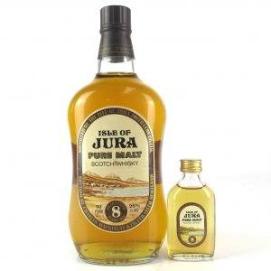 Jura 8 Year Old 1970s / Including Miniature