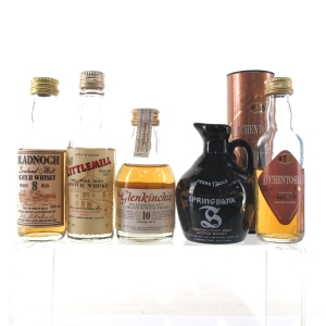 Campbeltown & Lowland Miniature Selection x 5