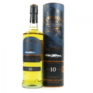 Bowmore Tempest 10 Year Old Batch #3 Front