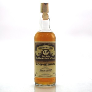 Convalmore 1969 Gordon and MacPhail 12 Year Old / Co. Pinerolo Import