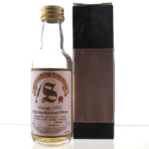 Ardbeg 1973 Signatory Vintage 15 Year Old Miniature 5cl