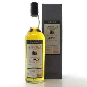 Aberfeldy 1980 Flora and Fauna Cask Strength