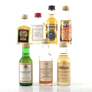 Speyside Single Malts Miniatures x 7