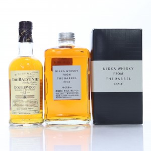 Balvenie 12 Year Old Double Wood 20cl & Nikka From The Barrel 50cl