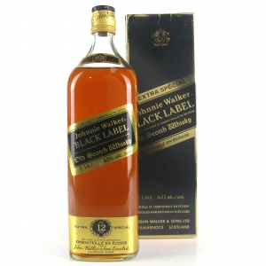 Johnnie Walker Black Label 1.14 Litre 1980s