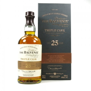 Balvenie 25 Year Old Triple Cask / Travel Retail Exclusive front