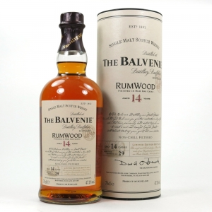 Balvenie 14 Year Old Rum Wood Front