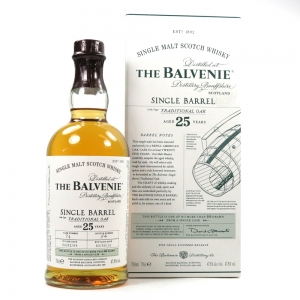 Balvenie 1988 25 Year Old Single Barrel Front