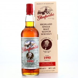 Glenfarclas 1990 Edition No.21 Thomas Carlyle