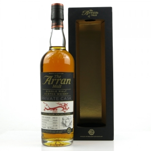 Arran 2000 Private Cask 15 Year Old / Year of the Dragon